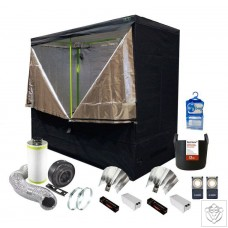 2 x 600W Soil Grow Tent Kit - 240 x 120 x 200cm