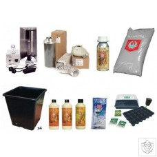 Pro 4 Plant 600W HPS Indoor Soil Grow Kit