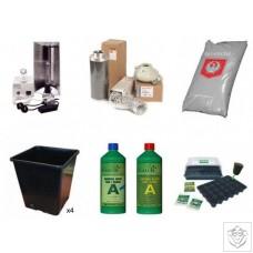 Quality 4 Plant 600W HPS Indoor Soil Grow Kit