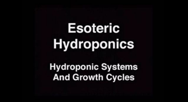 Hydroponics Systems Instructions